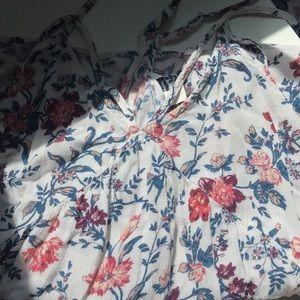 Flowy, florid cami top